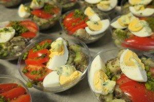Nouvelle salade de lentilles, Pain de Sucre
